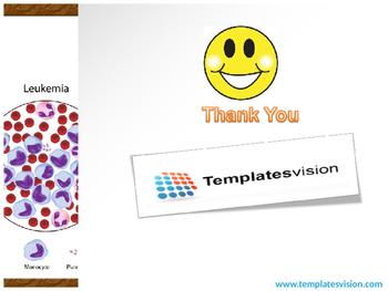 Leukemia Blood Cells PPT Template