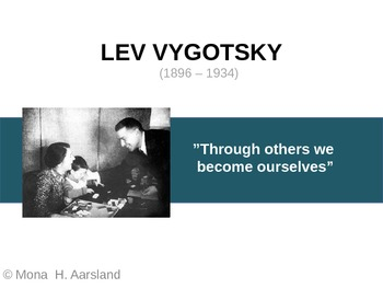 Lev Vygotsky - Presentation of Main Ideas