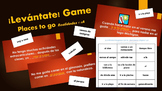 Levantate Game for Realidades 1 4A Vocabulary