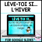 Lève-toi si... L'hiver/French Winter Stand Up Sit Down Digital Brain Break