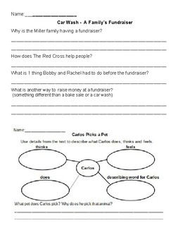 Leveled Readers Comprehension questions ReadyGen Grade 2 Unit 2