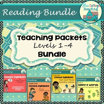 Level 1-4 Teaching Packet Bundle