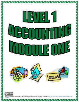 Level 1 Accounting Module One TADO