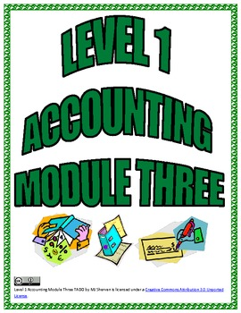 Level 1 Accounting Module Three TADO