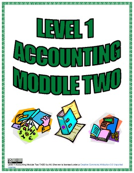 Level 1 Accounting Module Two TADO