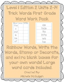 Level 1 Edition 2 Units 2-14 Trick Words Word Work Pack