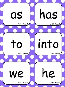 Level 1 Trick Words for Word Wall with EDITABLE Cards - 2 sizes