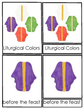 Catholic Liturgical Colors Worksheets Teaching Resources Tpt