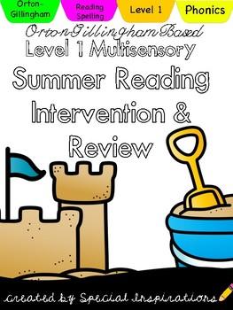 Level 1 Multisensory Summer Reading Review (Orton-Gillingham)
