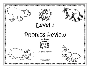 Level 1 Phonics Review FUN (2nd Edition)
