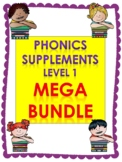 Level 1 Units 2-14 Phonics supplements, Centers, and Activities MEGA BUNDLE