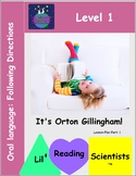 Oral Language - Following Directions Kit