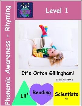 Phonemic Awareness - Rhyming Kit