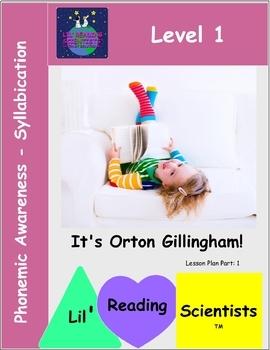 Phonemic Awareness - Syllabication Kit