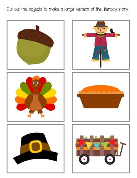 Level 1 Thanksgiving Activities