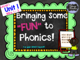 "Level 1, Unit 1: Putting the FUN in ""Fun""dational Teaching! For your SMARTboard!"
