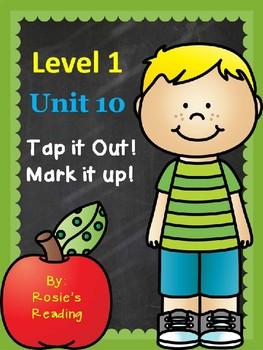 Level 1 - Unit 10 Tap it Out! Mark it up!