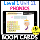 Level 1 Unit 11 FUNdamentally Differentiated Digital BOOM CARDS VCE Syllable