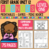 Level 1 Unit 12 Compound Words and Multisyllabic Words