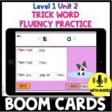 Level 1 Unit 2 FUNdamentally Differentiated Trick Word Pra