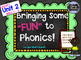 "Level 1, Unit 2: Putting the FUN in ""Fun""dational Teaching! For Your Smartboard!"