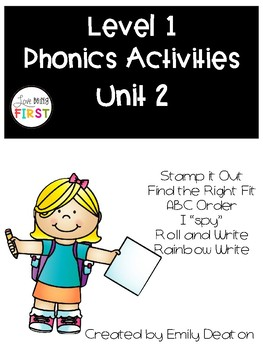 Phonics Level 1 Unit 2