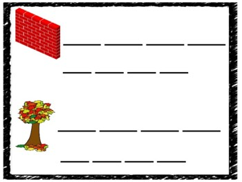 Level 1 Unit 4 Build and Write center Activity: Bonus letters, glued sound-all