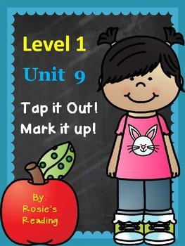 Level 1 - Unit 9 Tap it Out! Mark it up!