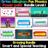 Level 1 Units 1-14 First Grade Phonics Power point Google