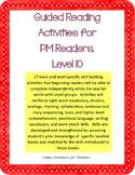 Level 10 Guided Reading Activities for PM Readers