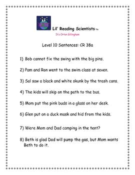 Blends (Set B) - Decoding/Reading Kit (OG)