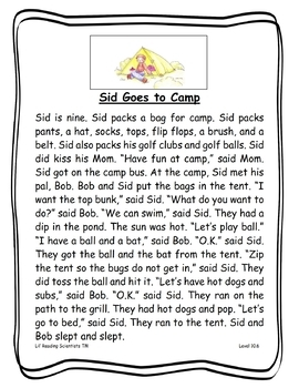 Blends (Set B) - Decodable Stories, Sentences, and Word Cards (OG)