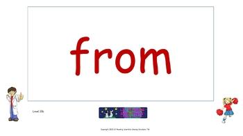 Blends (Set B) - Picture Prompts and Words - Flip Chart (OG)