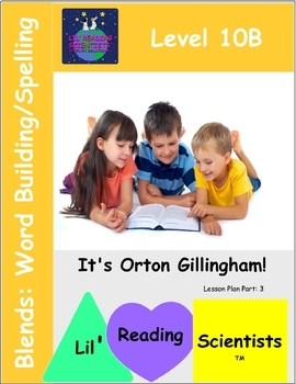 Blends  (Set B) - Word Building/Spelling Kit (OG)