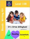 Blends (Set B) - Writing Prompts for Literacy Centers (OG)