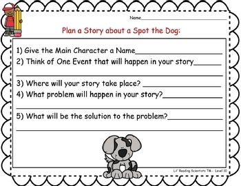 Blends (Set B) - Writing Prompts for Literacy Centers (OG)