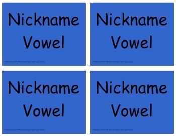 Long Vowels - Long-and-Short-Vowel Word Sort (OG)