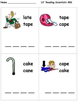 Long Vowels - Word Building with Long Vowel Words (OG)