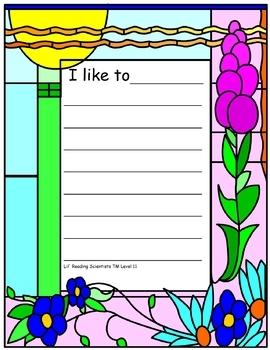 Long Vowels - Writing Workshop (OG)