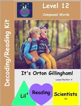 Compound Words - Decodable Stories, Sentences, and Word Cards (OG)