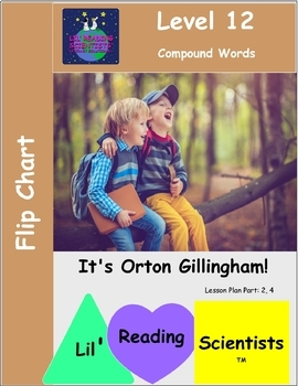 Compound Words - Picture Prompts and Word Cards - Flip Chart (OG)