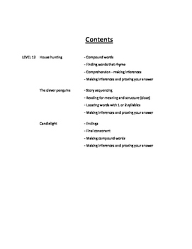 Level 12 Guided Reading Activities for PM Readers