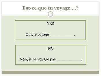 Level 1&2 Transportation Core French Vocabulary