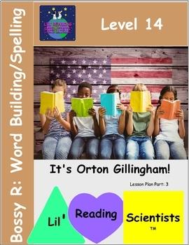 Bossy R (R-Controlled) Word Building/Spelling Kit (OG)