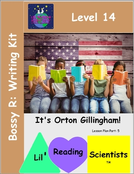 Bossy R (R-Controlled) - Writing Prompts for Literacy Centers (OG)