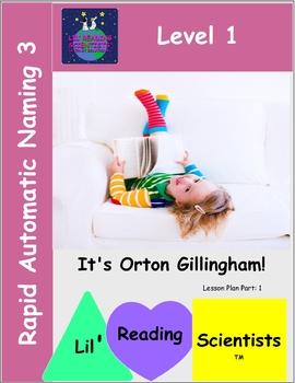 Rapid Automatic Naming Exercises (Advanced) (OG)