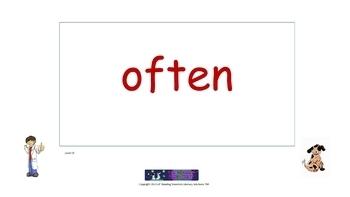 Vowel Teams - Words Flip Chart (Spellings for Long E) (OG)