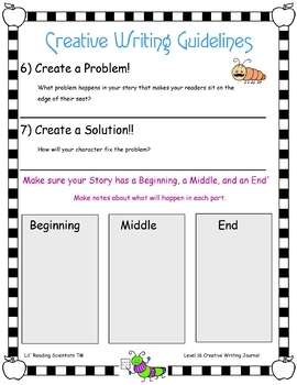 Level 16 Creative Writing Kit (OG)
