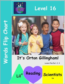 Open and C-LE Syllables -  Words Flip Chart (OG)