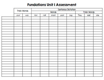Level 2 Assessment Trackers  - Editable